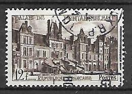 FRANCE    -     1951 . Y&T N° 878 Oblitéré.  Fontainebleau - Usati