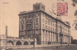 401 – Vintage 1920 - Italia Italy – Livorno Livourne – Edificio Alessi Gemma – Stamp Postmark – Slightly Torn : 2 Scans - Livorno
