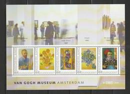 Nederland NVPH 2563E1 Vel Persoonlijke Zegels Van Gogh Museum 2009 MNH Postfris - Sellos Privados