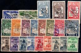 Venezuela (Servicio Oficial Aéreo) Nº 84/5, 103/19. Año 1938/39 - Venezuela