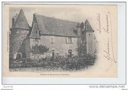 REF19.043  CHARENTE CHÂTEAU DE MONTMOREAU - Castillos