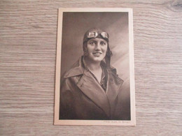 AVIATION CLICHE ANDRE LE BOURGET CHAMPIONNE FRANCAISE MARYSE BASTIE - Aviateurs