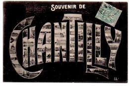 Ref 560 CPA 60 Souvenir De Chantilly Multivues - Chantilly