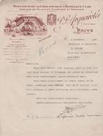 19 BRIVE P.L. ARGUEIROLES MANUFACTURE DE CHAUSSURES A SEMELLES CUIR FABRIQUE DE GALOCHES - 1900 – 1949
