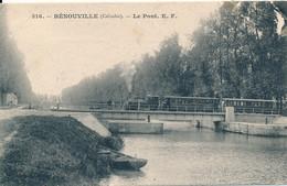 Blonville Sur Mer (14 - Calvados) Le Pont - Au Passage Du Tramway - édit. EF N° 516 - Sonstige Gemeinden