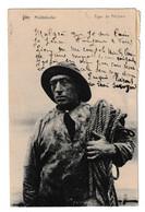 Middelkerke Type De Pêcheur Briefstempel Favery 1924 - Middelkerke