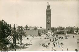 Photo Cpsm Maroc MARRAKECH. La Koutoubia 1951 - Marrakesh