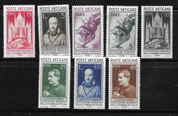Vatican YT N° 72/79 Neufs *. B/TB. A Saisir! - Unused Stamps