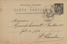 CPA 1900 : Fabricant De Pipes , Mr Grandclément, Gauterou Et Cie  Saint Claude - Vari