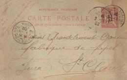 CPA 1902 : Fabricant De Pipes , Mr Grandclément, Gauterou Et Cie  Saint Claude - Vari