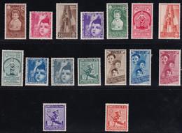 Regno D'Italia Colonie Estive 1937 Serie Completa Sass. 406/A105 MH* Cv 320 - Neufs
