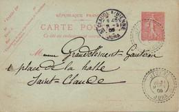 CPA 1906 : Fabricant De Pipes , Mr Grandclément, Gauterou Et Cie  Saint Claude - Vari
