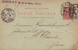 CPA 1907 : Fabricant De Pipes , Mr Grandclément, Gauterou Et Cie  Saint Claude - Vari