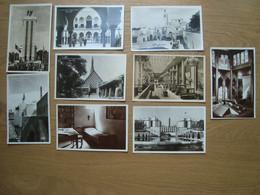 LOT DE 9 CPA EXPOSITION INTERNATIONALE PARIS 1937 - Tentoonstellingen