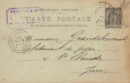 CPA 1898 : Fabricant De Pipes , Mr Grandclément,  Saint Claude - Vari