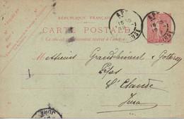 CPA 1907 : Fabricant De Pipes , Mr Grandclément, Gaudrou Et Fils,  Saint Claude - Vari