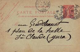 CPA 1907 : Fabricant De Pipes , Mr Grandclément,  Saint Claude - Vari