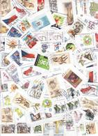 Czech Republic 0,500 Kg Postage Stamps On Paper 2000-2019, Kiloware - Alla Rinfusa (min 1000 Francobolli)