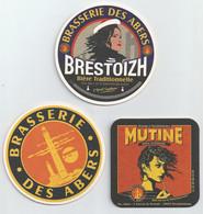 France Brasserie Des Abers 3 Sous-bocks - Portavasos