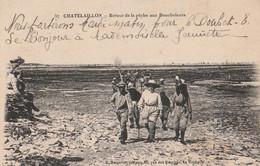 DPT 17 CHATELAILLON Retour De La Pêche Aux Boucholeurs  CPA TTBE - Châtelaillon-Plage