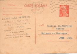 CPA  1954 : Mr Grandmottet , Moisans En Montagne , Jura , Fabrique De Porte Manteaux,.... - Vari