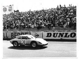 Sport Automobile Voiture De Course Porsche 356 Photo 12,5x17,5 - Cars