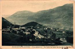 St-martin-la-cluze - Paquier - Vue Générale - Ligne De La Mure - Histoire Au Verso - Otros Municipios