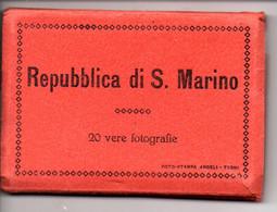 Leporello San Marino, 20 Bilder, Alle Ca. 6 X 9 Cm, Um 1939 - San Marino
