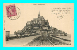A849 / 333 50 - LE MONT SAINT MICHEL Vue Générale ( Voiture ) Texte De Botrel - Le Mont Saint Michel