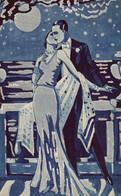 "SERIE DI 13 CARTOLINE DIPINTE A MANO-UNA DIVERSA DALL'ALTRA-ORIGINALE AL 100%-CASA EDITR-FOTOFFICINE ""SBORGI "" FIRENZE - 1900-1949"