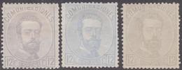 1872 Edifil 122 Amadeo I 12c. Nuevos  Variedades De Color - Nuevos