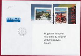 """St.Pierre Et Miquelon  2020 YT 1250-51 Oblitérés  """" CABESTANS """" Cachet St.Pierre 2021 - Usados"""