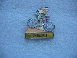 Pin's Cyclisme, Vélo, Randonnées Sur Chamonix - Cyclisme