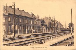 CPA Nord 59 -  ASCQ, Rue De La Gare - Villeneuve D'Ascq