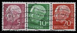Bund 1958,Michel# W20y O - Se-Tenant