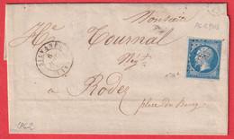 N°14 PC 2903 SILVANES AVEYRON POUR RODEZ INDICE 10 - 1849-1876: Klassik