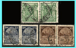 GREECE-GRECE - Hellas Egeo Rodi Italy 1932: From Set Used - Egée