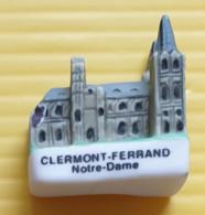 Fève  - Cathédrale Clermont Ferrand  Notre Dame - Région