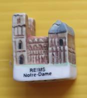 Fève  - Cathédrale Reims  Notre Dame - Région