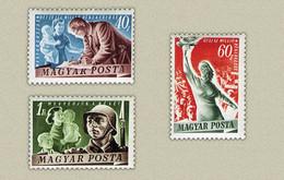 Hungary 1950. Peace Nice Set MNH (**) Michel: 1139-1141 - Unused Stamps