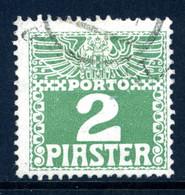 LEVANTE PORTO Mi. 10 Xa Gestempelt - Eastern Austria