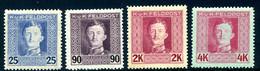 KuK FELDPOST Mi. 62 + 68-69 + 71 Falz - Unused Stamps