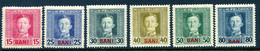 KuK FELDPOST (Rumänien) Mi. 6, 8-11, 13 Falz - Unused Stamps