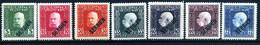 KuK FELDPOST (Serbien) Mi. 25, 27, 31-33, 36-37 Falz - Unused Stamps