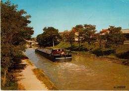 71 - DIGOIN - CANAL DU CENTRE (PÉNICHE) - Digoin
