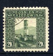 Bosnien-Herz. Mi. 43 C (L 9 1/4) Gestempelt - Bosnia And Herzegovina