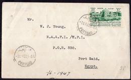 Egypte - 1947 - Letter - Port Said - A1RR2 - Lettres & Documents
