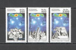 NW1524 2003 SOMALIA SOOMAALIYA SOOMAALIYA SPACE ASTRONOMIC OBSERVATORY SET MNH - Astronomie