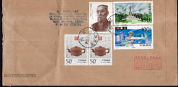 China - 2001 - Letter - Air Mail - Sent To China - A1RR2 - Covers & Documents