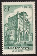""":-) MONACO 1943 YT N°255 NEUF** """" Vues De La Principauté """" - Unused Stamps"""